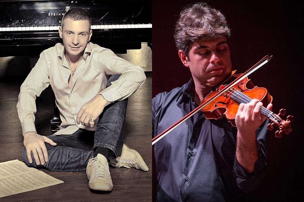 Violinista brasileiro Daniel Guedes em Nova Iorque