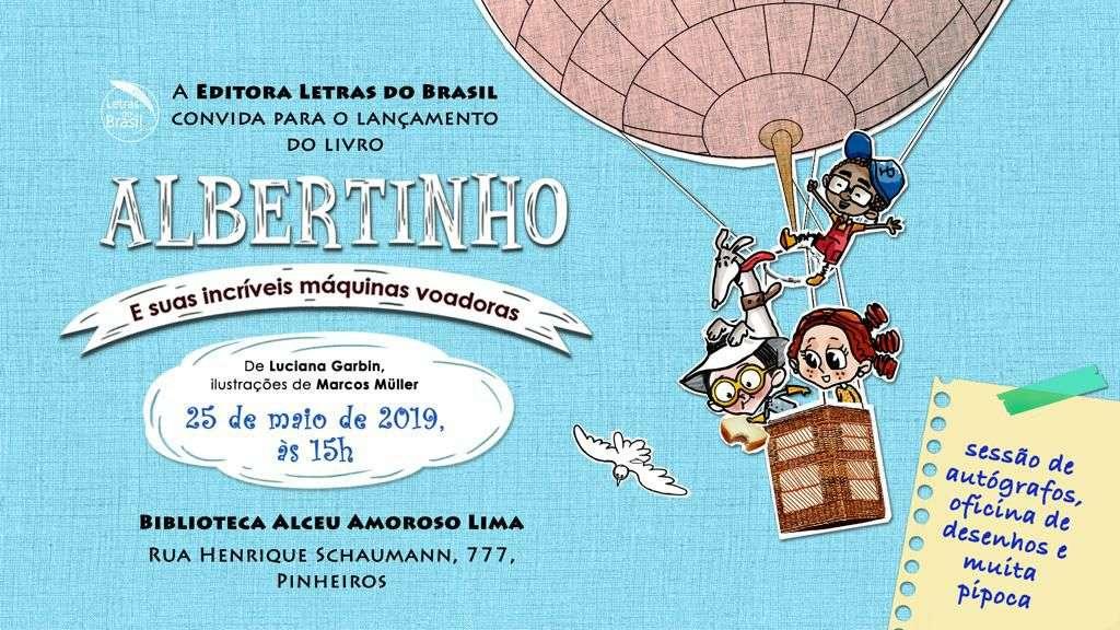 Albertinho e suas incríveis máquinas voadoras
