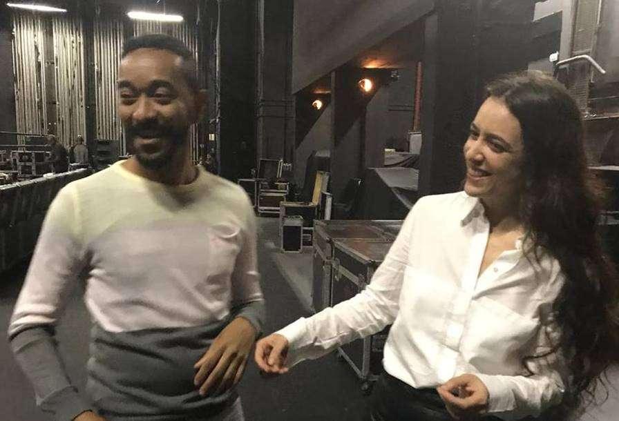 Roberta Sá e Moisés Navarro no Palácio das Artes em BH
