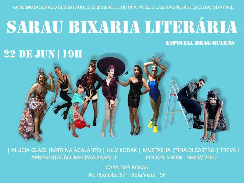 LGBTQ+ / BIXA PARTY acontece 21/6 no Espaço 170