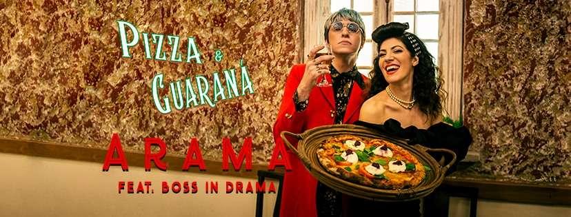 "Aramà lança o clipe ""Pizza e Guaraná""com Boss in Drama"