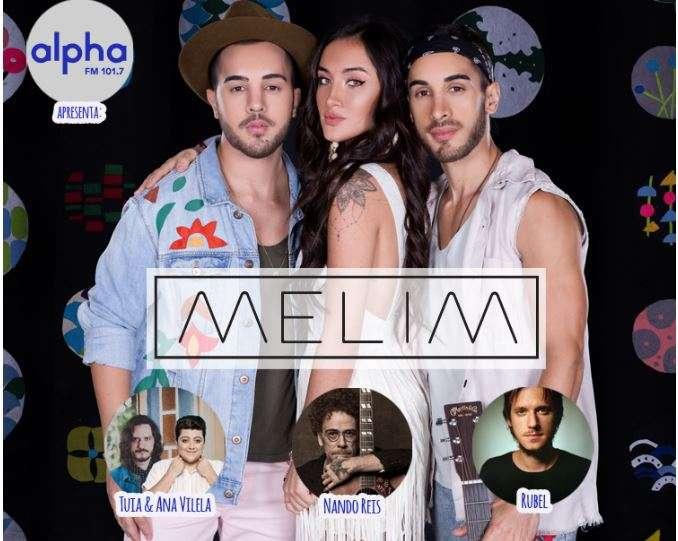 Show com Tuia, Ana Vilela, Melim, Nando Reis e Rubel