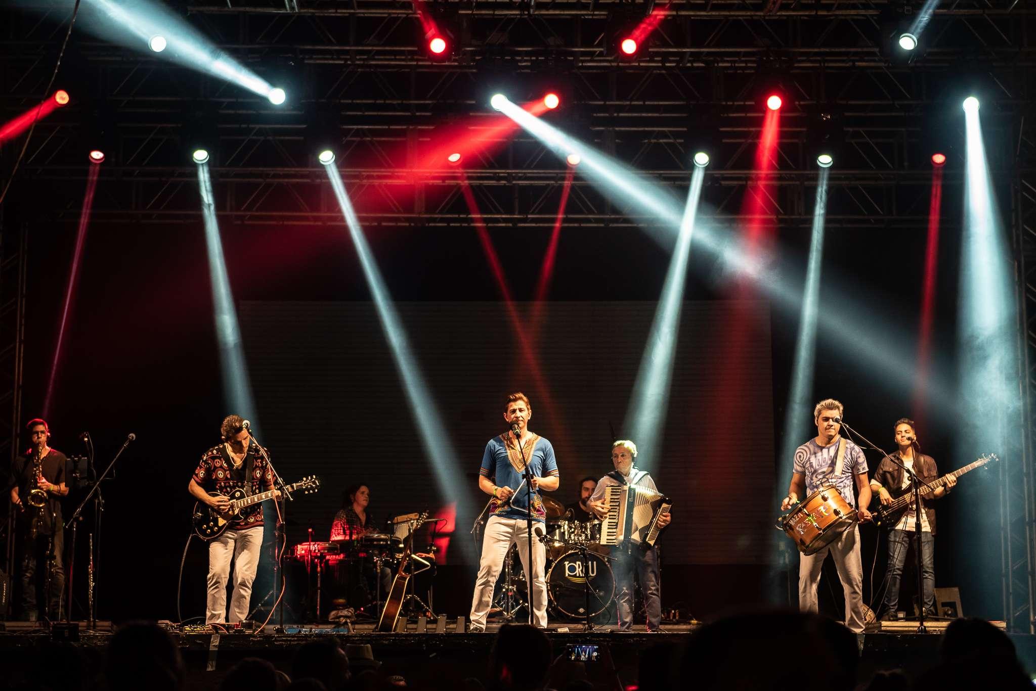 Banda Rastapé no Arraial nos trilhos em São Paulo