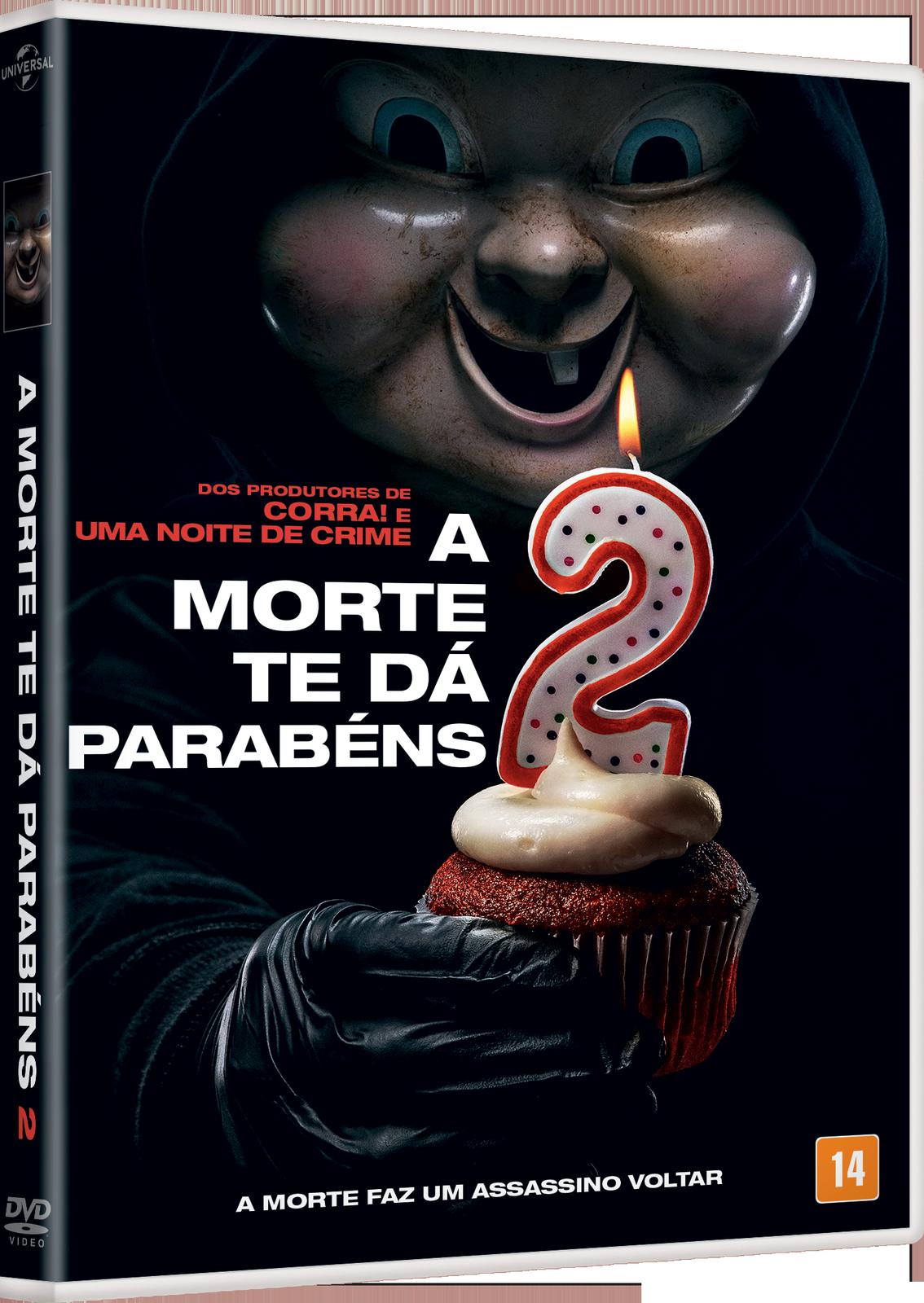 A Morte Te Dá Parabéns 2 chega em DVD