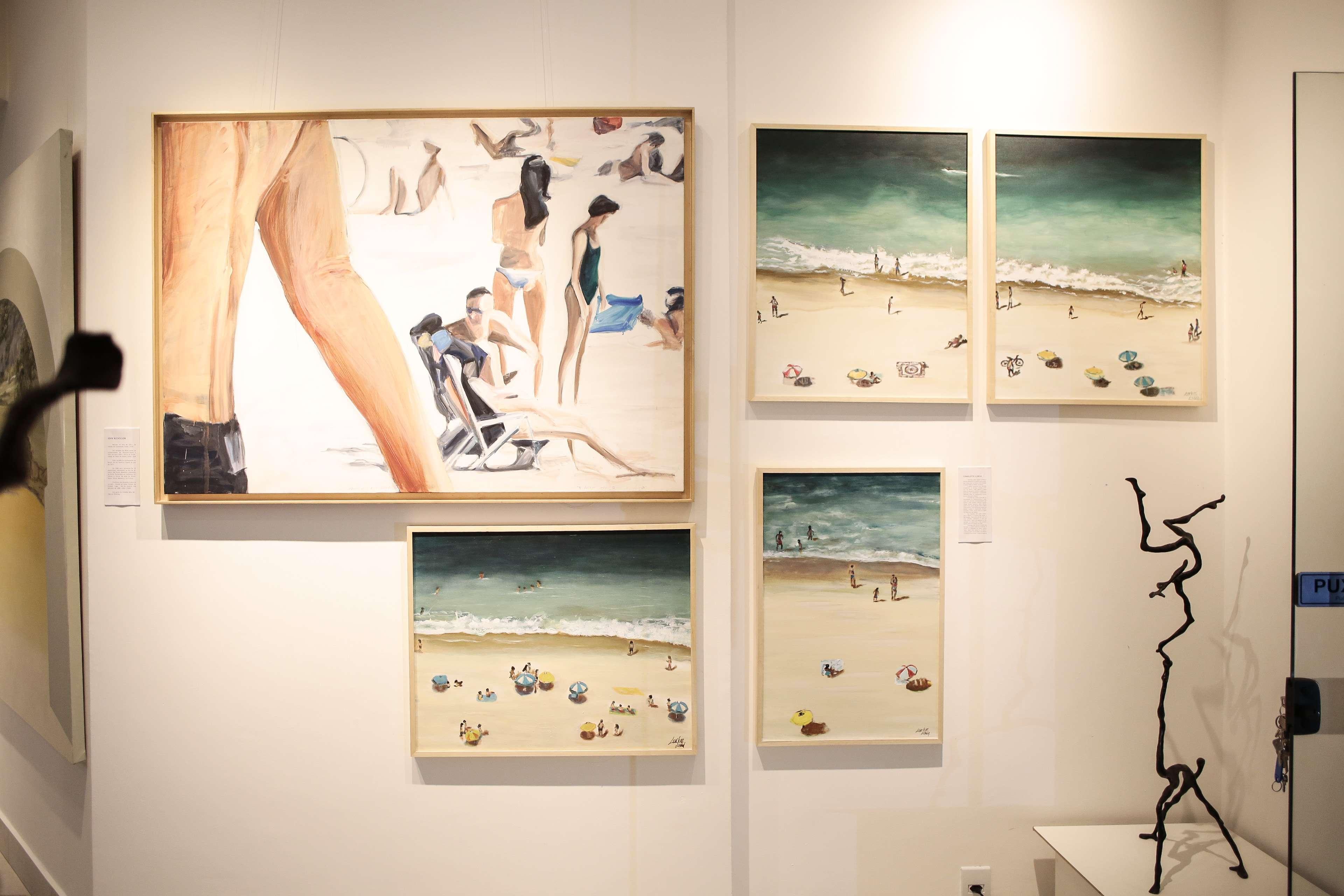 Obras e dos artistas cariocas com a exposição Bonde21