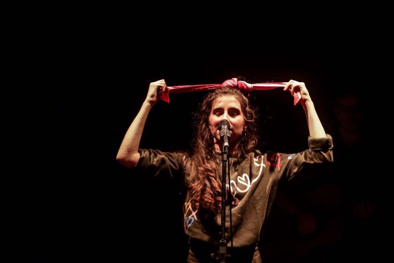 """Nina Fernandes no show """"Digitando"""" - Solar de Botafogo"""