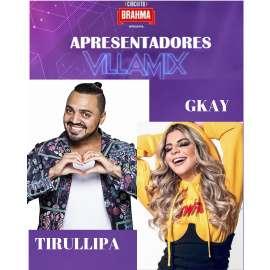 Tirullipa e GKay no VillaMix Festival Goiânia