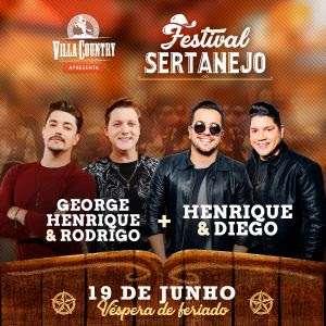 Festival Sertanejo volta com tudo ao Villa Country