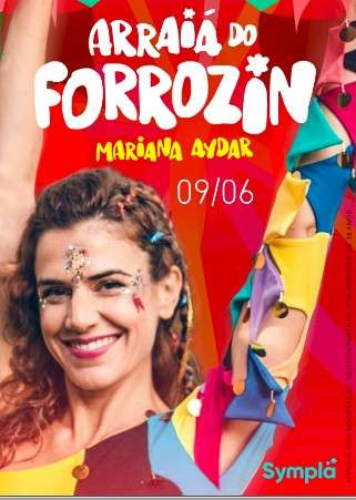 Arraiá do Forrozin com MARIANA AYDAR