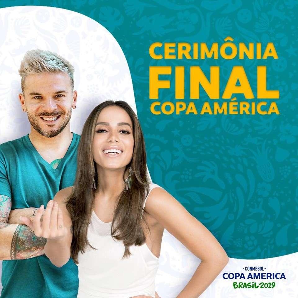 Anitta e Pedro Capó Na  Copa América Brasil 2019