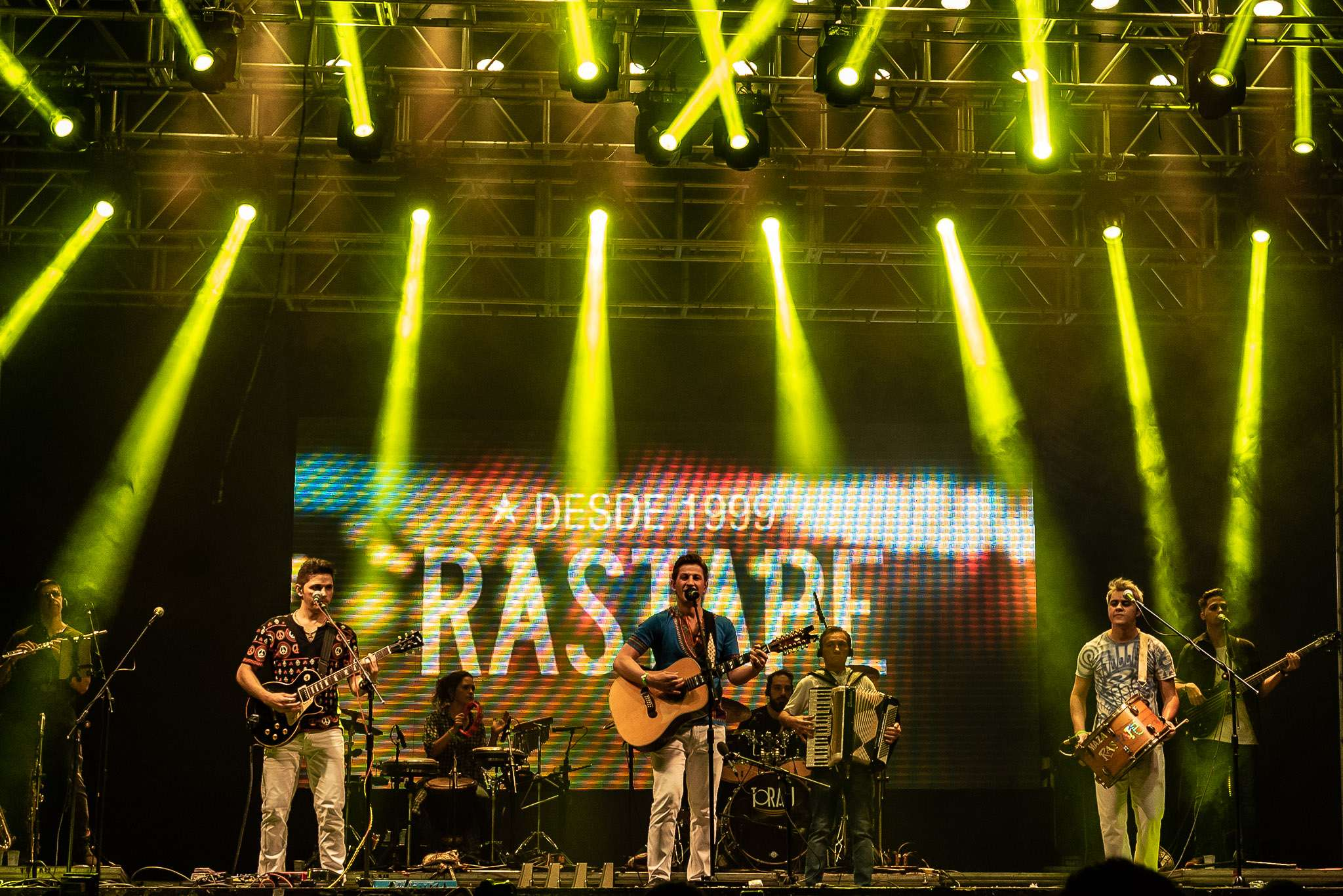 Banda de Forró Rastapé no Arena Vip de Osasco