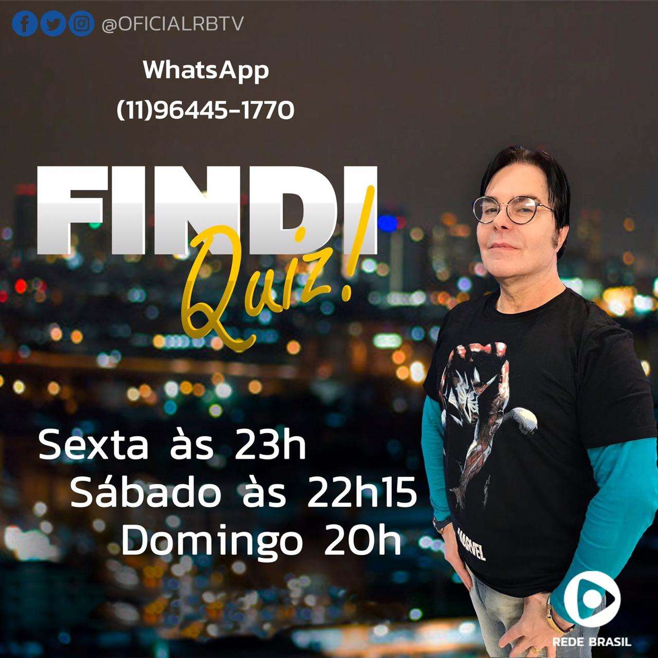 FINDI QUIZ  da Rede Brasil de Televisão