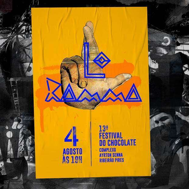 A banda LO RAMMA no Festival do Chocolate