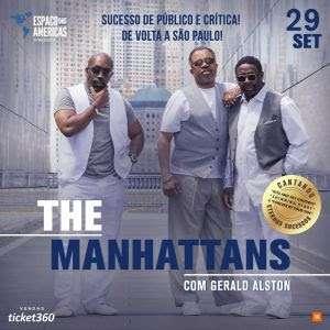 The Manhattan's no palco do Espaço das Américas