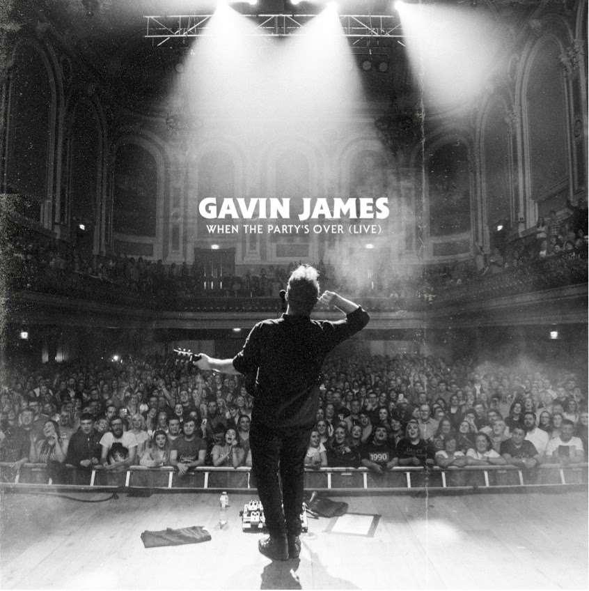 """Gavin James divulga cover de """"When The Party's Over"""""""