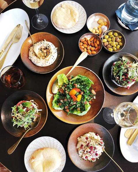 Instituição de cozinha libanesa no Hôtel Hermitage Monte-Carlo