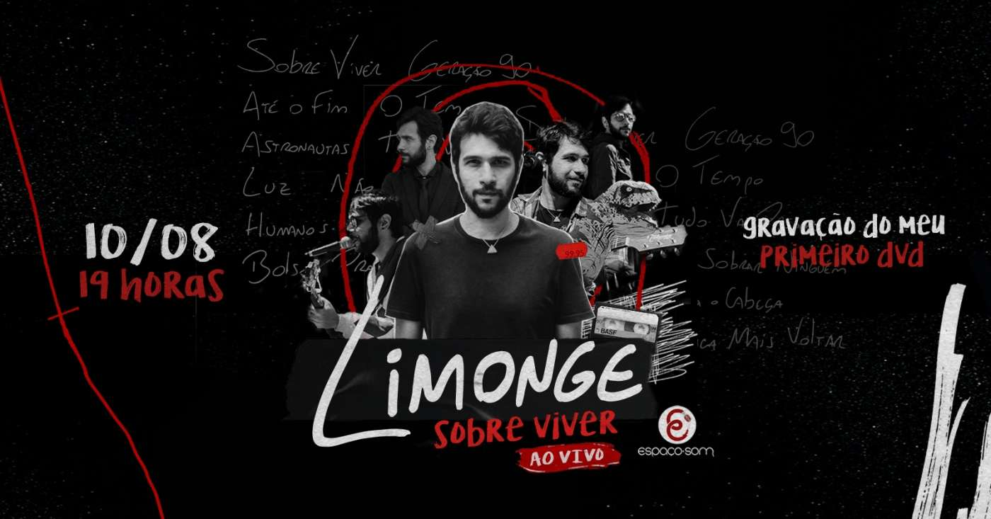 Limonge grava seu primeiro DVD em show gratuito em SP