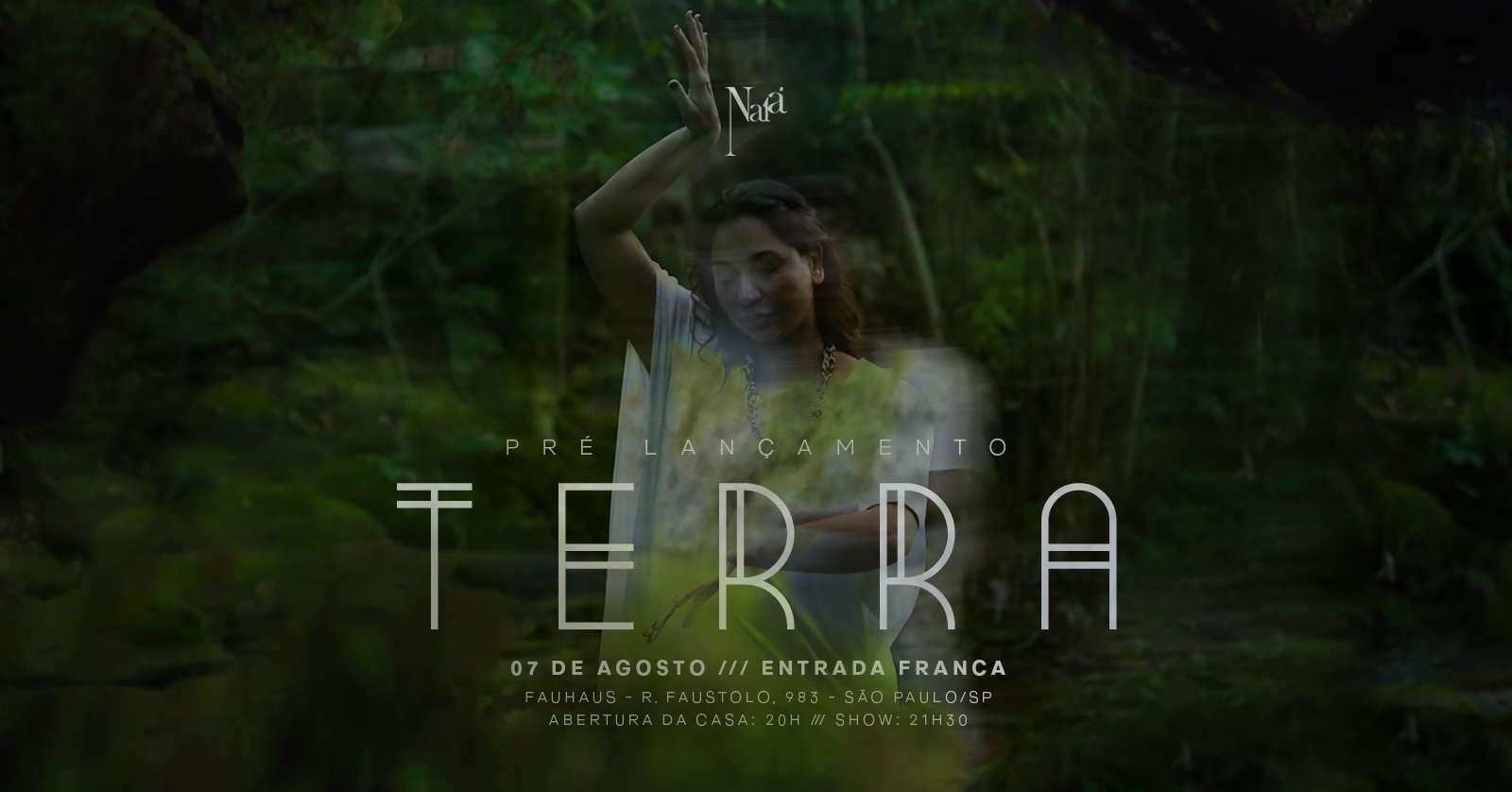 """Naia comemora lançamento de """"Terra"""" com show"""