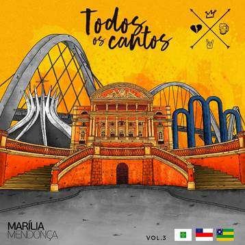 """Marília Mendonça lança novo EP do """"Todos os Cantos"""""""