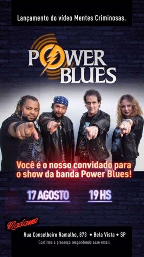 Power Blues mantém a tradição do verdadeiro rock