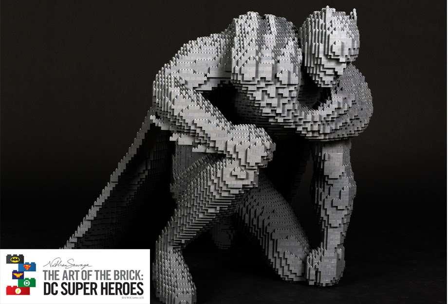 A maior exposição LEGO® do mundo chega ao Brasil