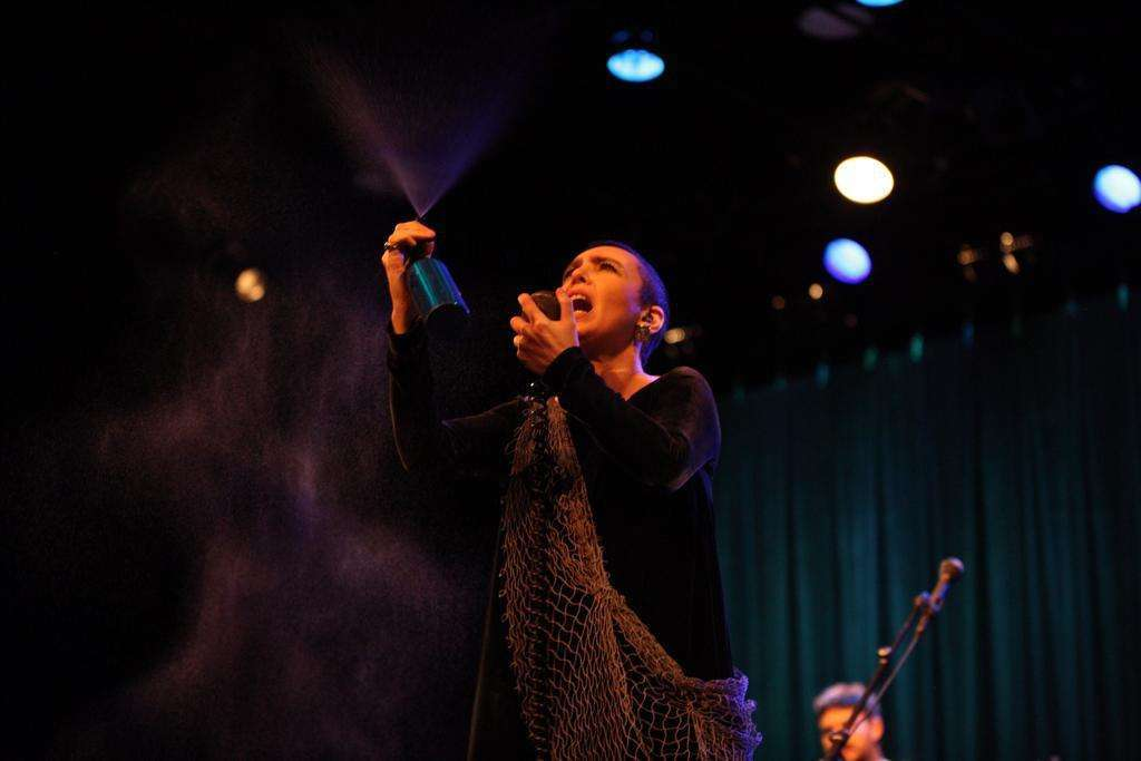 Adriana Calcanhotto e sua turnê Margem em NY