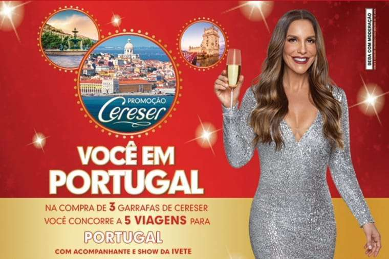 Viagem a Portugal com show de Ivete Sangalo