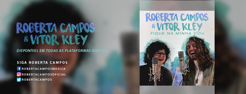 Roberta Campos e Vitor Klay lançam single