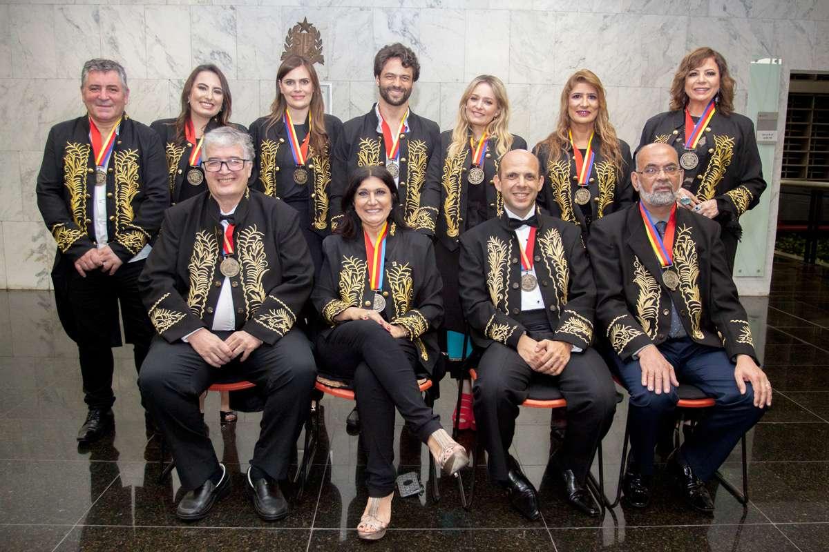 Cerimônia de posse dos novos acadêmicos da ACLASP