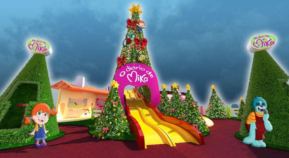 """""""O Diário de Mika"""" ganha decoração de Natal"""