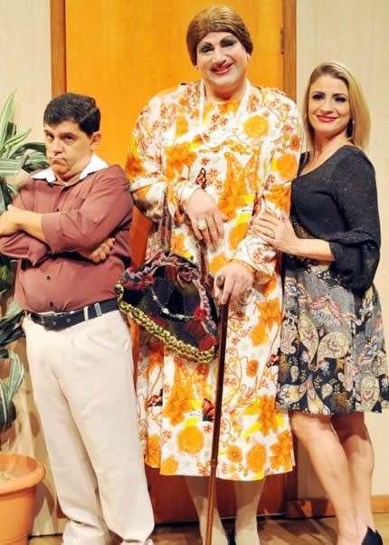 """""""A sogra que pedi a Deus"""" teatro Ruth Escobar"""