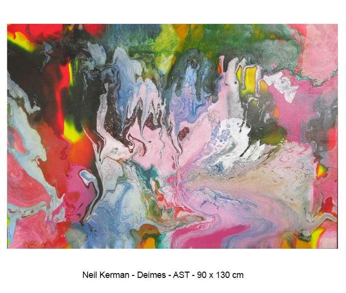 Cores vibrantes traz Neil Kerman a São Paulo