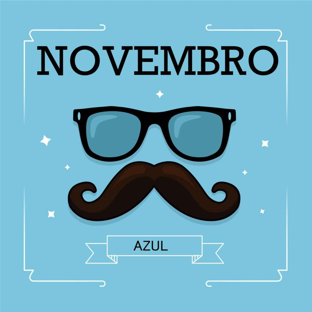 Um novembro azul, pra lá de colorido