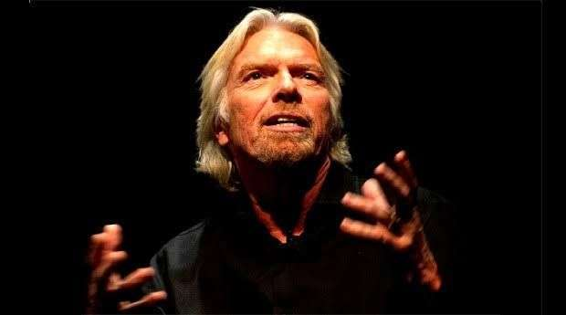"Richard Branson palestra no  ""Ebulição 2019"""
