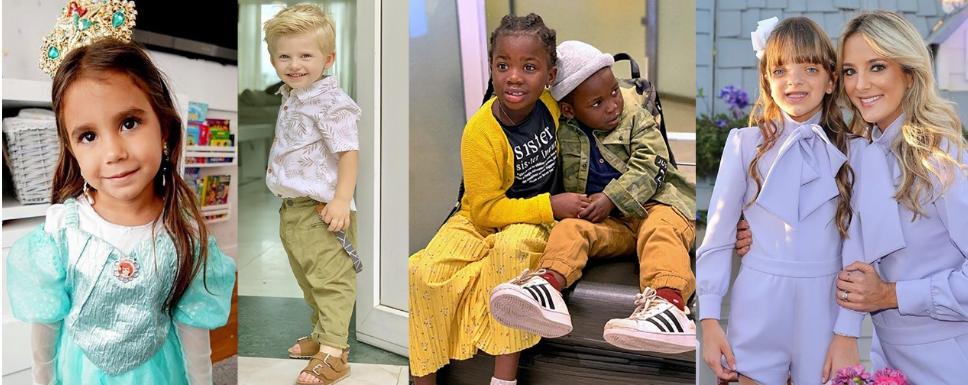 Filhos dos famosos No TV Fama