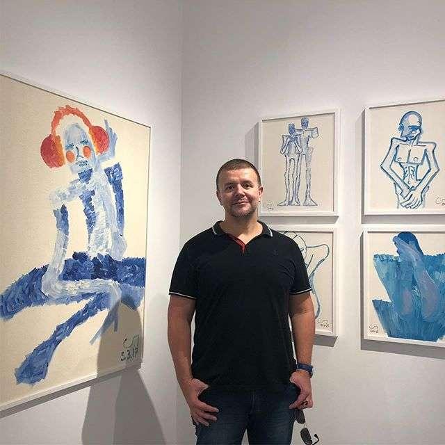 Expressionismo e Pop Art do artista Gray Portela