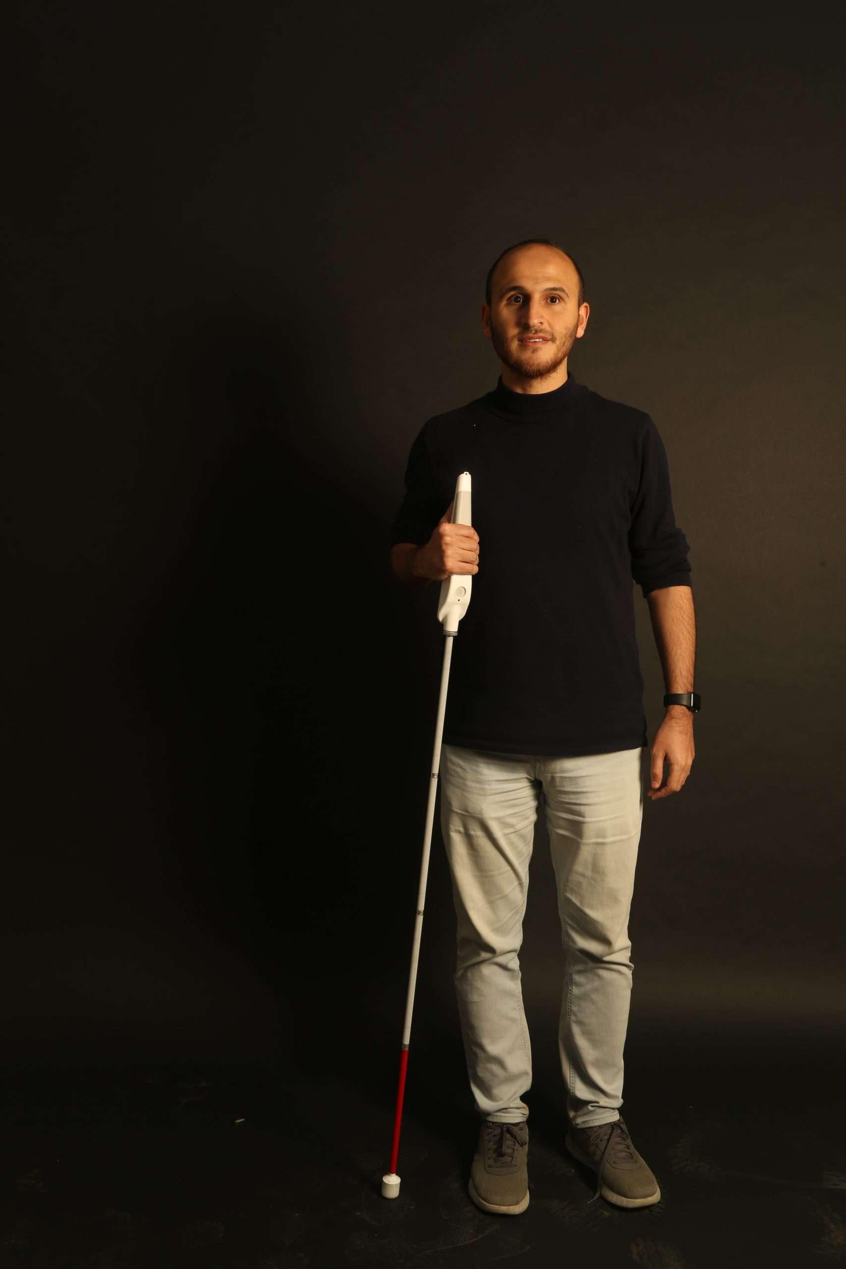 Mais autonomia para os deficientes visuais