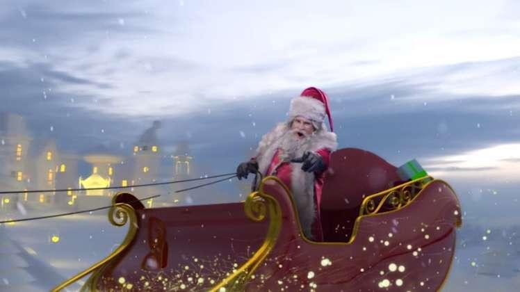Neste Natal Sidney Oliveira vira Papai Noel