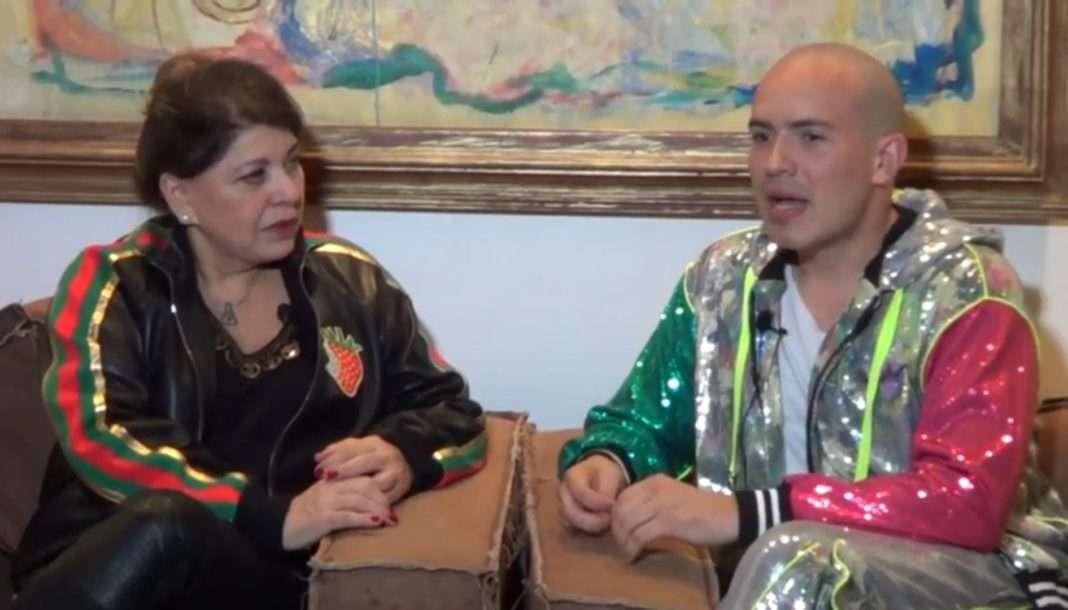 Roberta Miranda e Júnior Pacheco -namidia