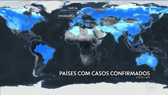 1° Caso de Coronavírus confirmado no Brasil