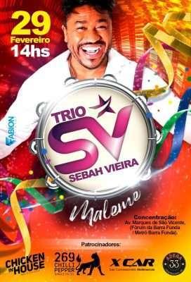 Trio Elétrico Sebah Vieira arrasando no Carnaval