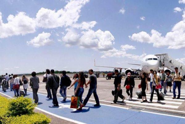 Inauguração da obra do aeroporto de Foz , dia 28