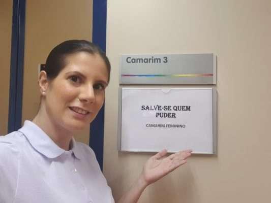 Evelyn Montesano em Salve-se Quem Puder