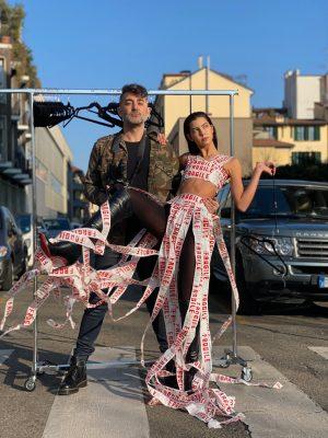 Modelos não são cabides na Fashion Week de Milão