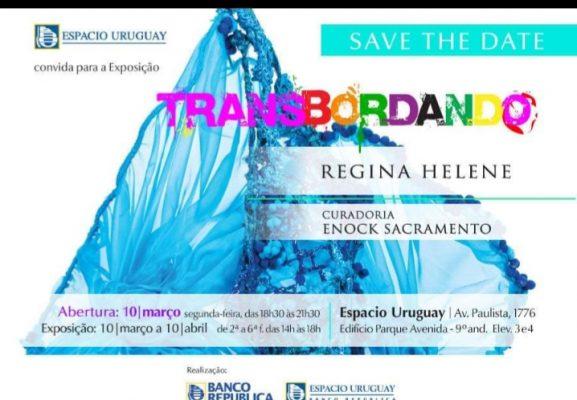 "Espacio Uruguay recebe a mostra ""TransBordando"""