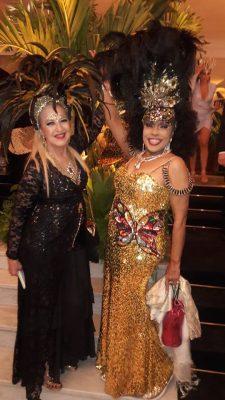 Eliana Pittman brilha no Carnaval Carioca