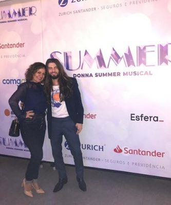 "2020 com ""Donna Summer Musical"" Teatro Santander"