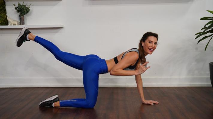 Mantenha o corpo em forma com exercícios caseiros