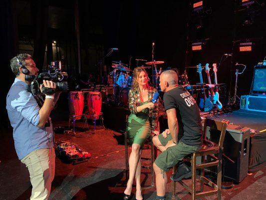 Eros Ramazzotti, hoje, na RedeTV