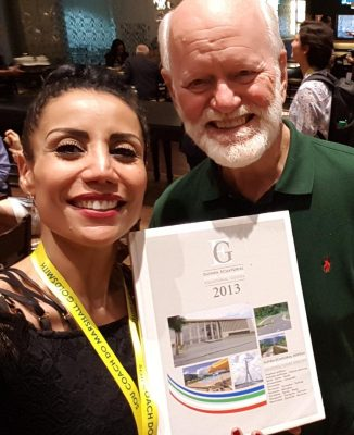 Haline Duarte e Marshall Goldsmith